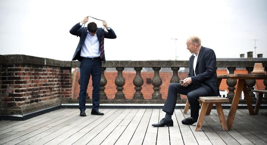 Stig Albertsen og Niels Ahrengot, partnere i Implement Consulting Group