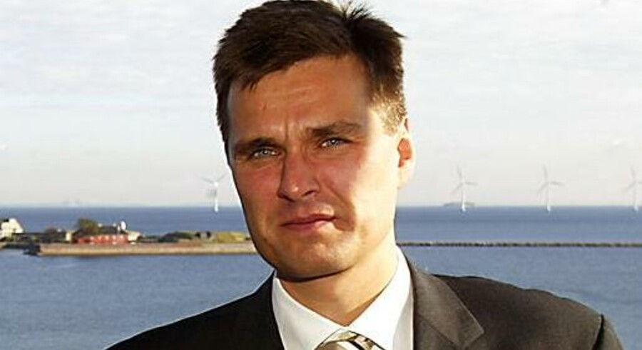 Direktør Henrik Sjøgreen FIH Erhvervsbank
