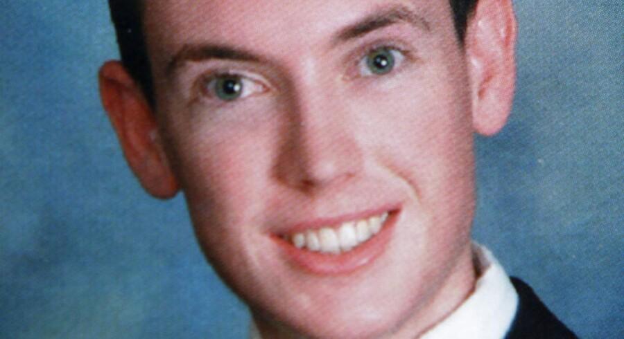Et billede af James Holmes fra 2006.