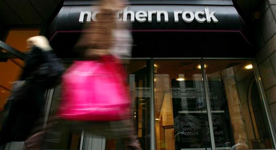 Aktionærerne i den kuldsejlede engelske bank Northern Rock ved endnu ikke, hvor meget af deres investering de får udbetalt.