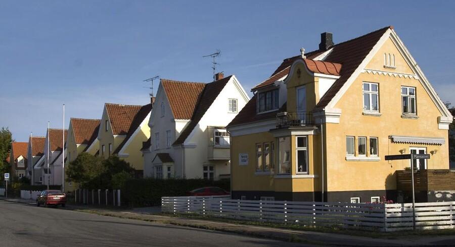 Villaer på Carl Langesvej i Valby.