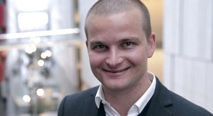 Thor Möger Pedersen er et af de nye ansigter på DR2. Den nye kanalprofil går i luften på mandag.