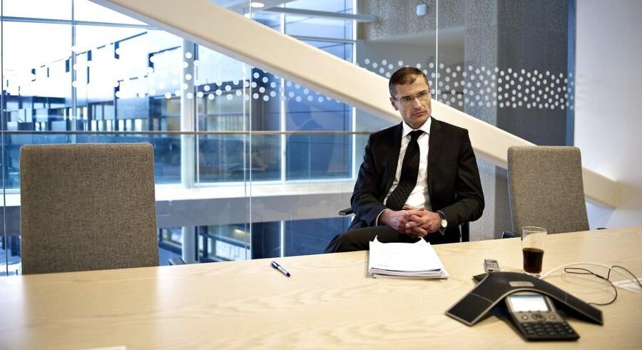 Ditlev Engel er administrerende direktør for Vestas, der har klaret sig ualmindeligt dårligt på børsen de senere år.