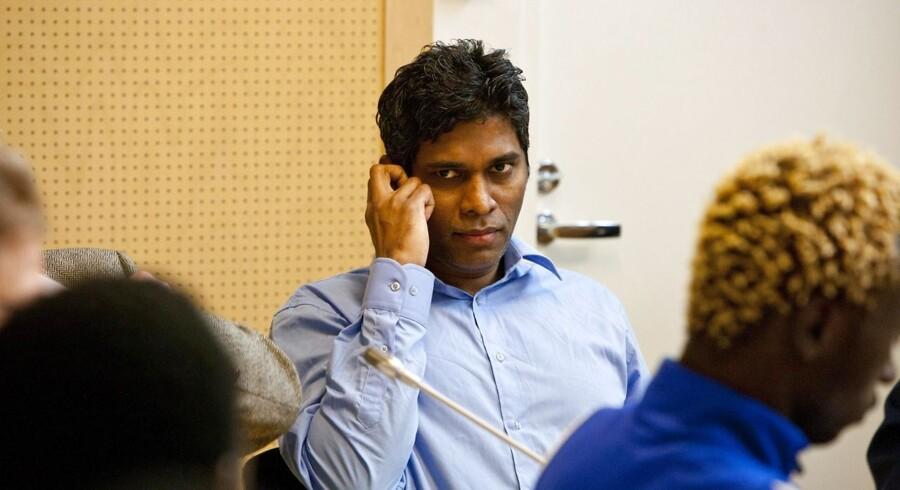 Wilson Raj Perumal afviser at have forudsagt VM-resultater.