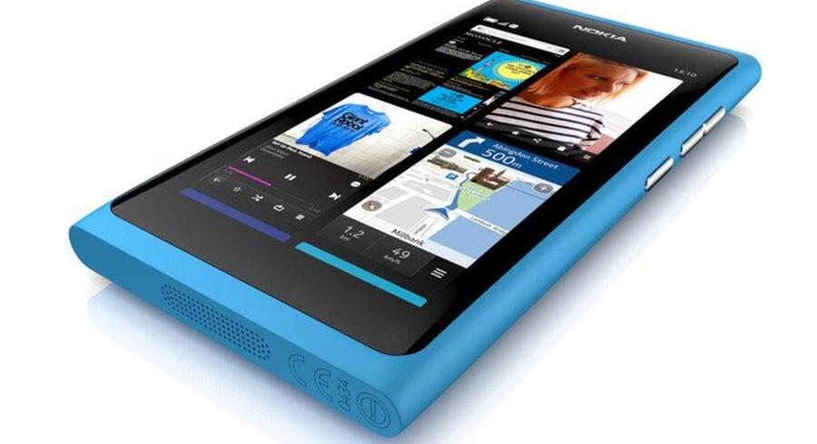 Endelig er den her: N9 med styresystemet meego. Nokia lancerer ny topmodel, der skal slå iPhone og Android af pinden.