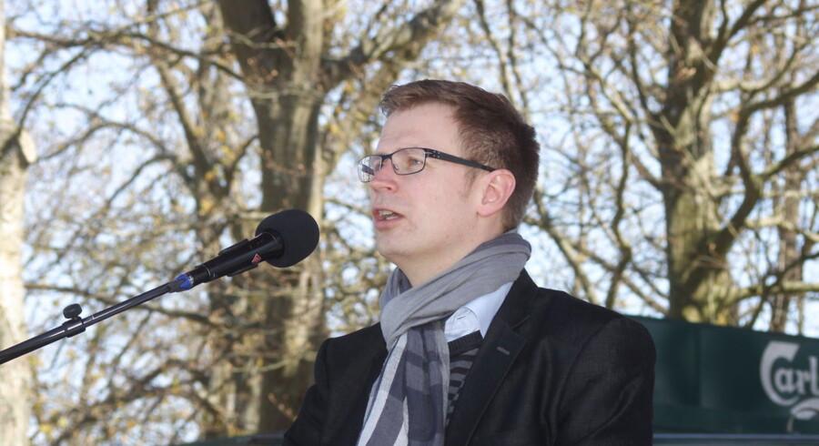 Socialdemokratiets erhvervsordfører Benny Engelbrecht langer ud efter de borgerlige. Arkivfoto.
