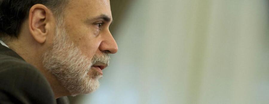 Chefen for den amerikanske centralbank, Ben Bernanke.