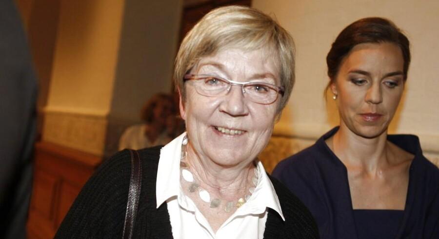 Marianne Jelved (R) skal som kulturminister med til Oscarfesten.