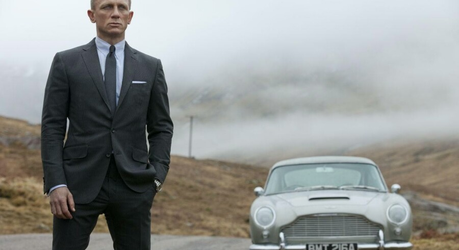 Daniel Craig som James Bond i Skyfall.