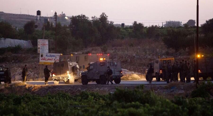 Her i landsbyen Halhul på Vestbredden i nærheden af Hebron er ligene af tre teenagere, der har været forsvundet siden 12. juni, dukket op.