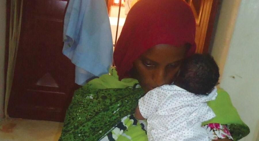 Meriam Ibrahim er dømt til døden, fordi hun har giftet sig med en kristen mand.