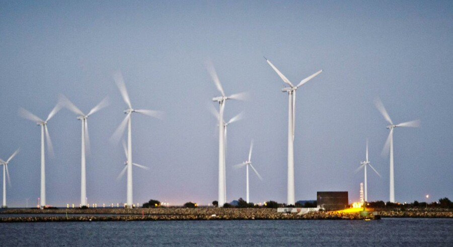 Vestas vindmøller.