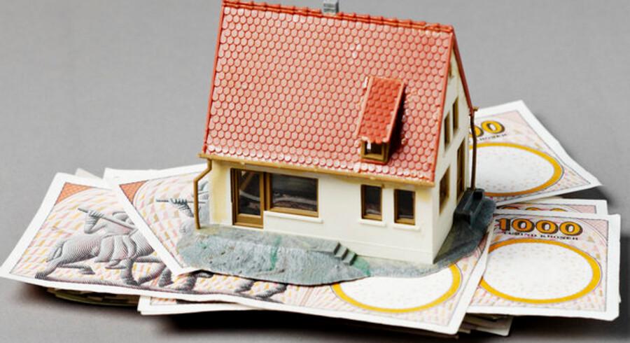 Mange boligejere ville stå tilbage med gæld, hvis de skulle sælge huset eller lejligheden med det samme.