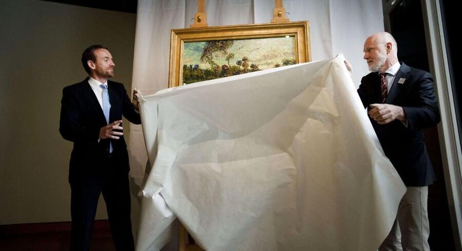 Sløret løftes for »Solnedgang ved Montmajour« på Van Gogh Museet i Amsterdam.