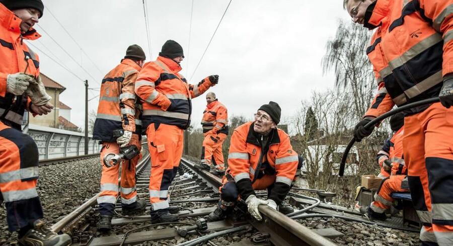 Mange kabeltyverier, senest ved Åmarken station i København onsdag morgen, generer S-togstrafikken.
