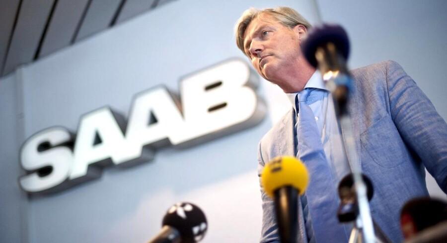 Chefen for SAAB-ejeren Spyker Cars, Victor Muller.