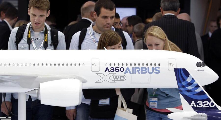 Fra model til virkelighed - Airbus A350 er snart på vingerne til testflyvninger, inden flyet kan tages i brug på kommercielle ruter.