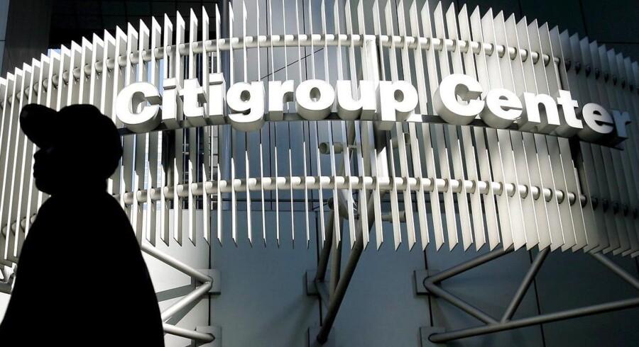 Citigroups hovedkvarter på Manhattan, New York.