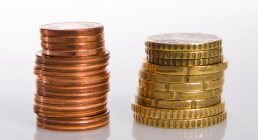 Der er stor forskel på, hvor meget bankerne har sat deres rente på et forbrugslån op i forhold til Nationalbankens udlånsrente.
