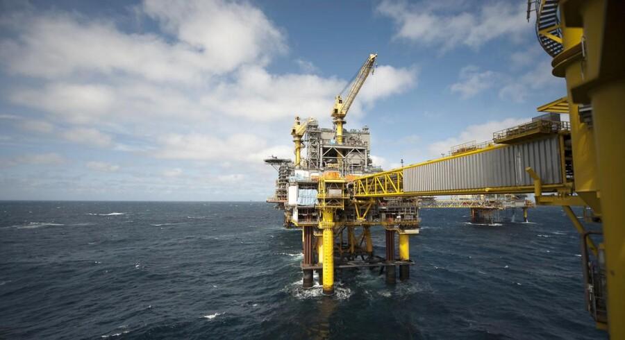 Mærsk Olie og Gas - Boreplatform Nordsøen Dan Feltet - Dan F.