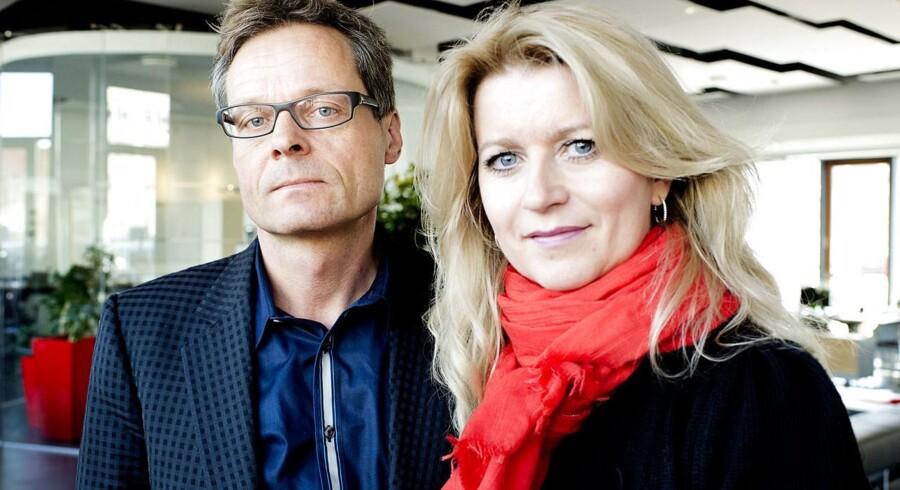 Ejendomsmæglerparret Peter Norvig og Hanne Nørrisgaard stopper i Nybolig.