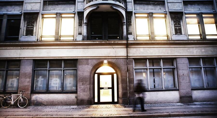 Det var i dette jobcenter i Farvergade i det indre København, at Københavns Kommune i strid med loven hævede millioner for aktivering af ledige.
