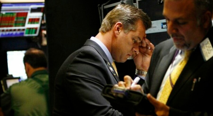 Bekymrede miner på New York Stock Exchange - venter en ny nedtur lige om hjørnet?