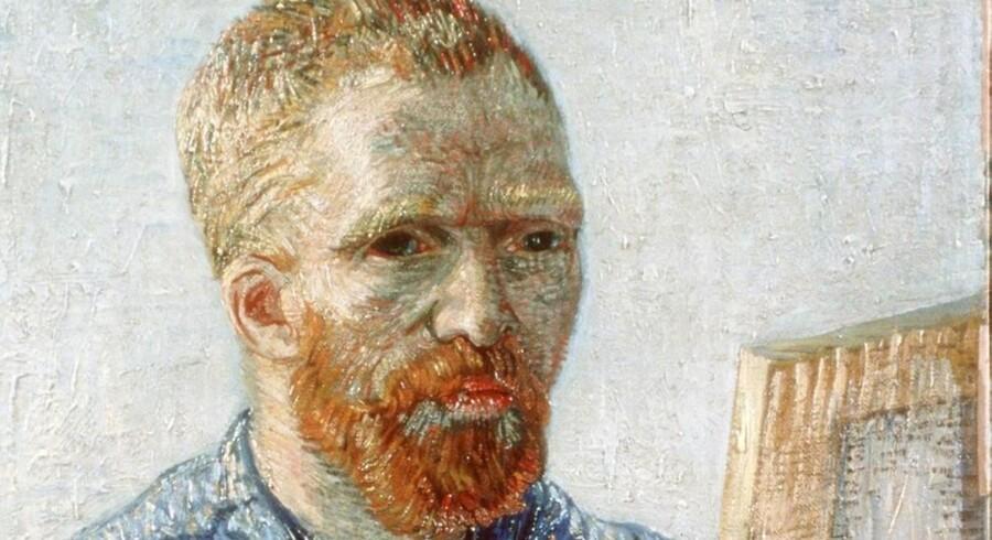 Et af Vincent Van Goghs selvportrætter.