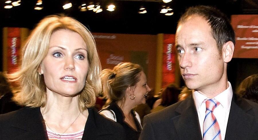 Helle Thorning-Smidt og Stephen Kinnock.