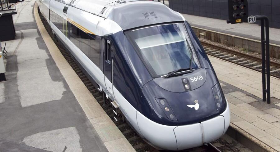 ARKIVFOTO 2012 af IC4-tog i Aarhus.