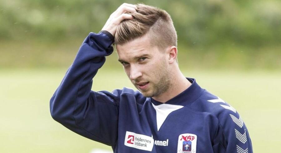 Andreas Laudrup har måttet indstille karrieren.