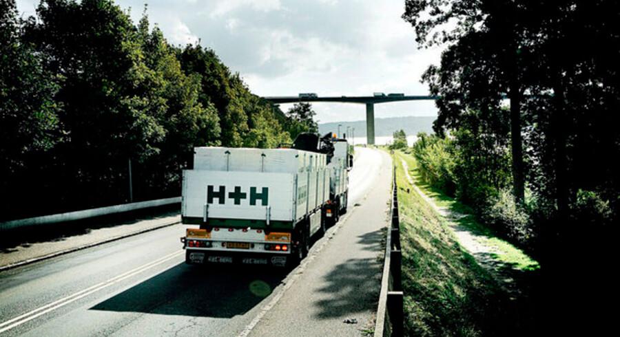 Gasbetonproducenten H+Hs bestyrelse er ikke populær hos to af de store investorer. Foto: H+H