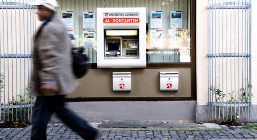 Mængden af svindel i forbindelse med kontantautomater er stærkt stigende.