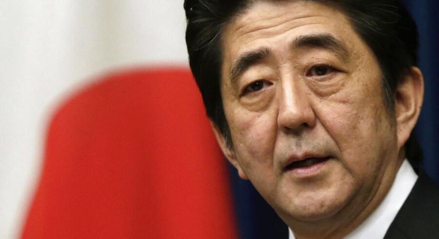 Japans premierminister Shinzo Abe har ikke skabt så meget vækst som forventet.