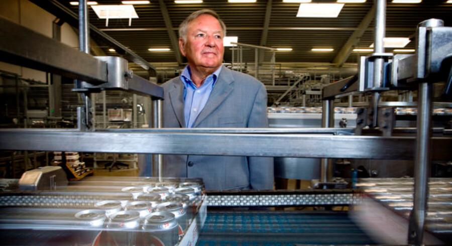 Administrerende dirketør og storaktionær i Harboe, Bernd Griese, er tilfreds med det forgange år, og klar på at vækste i det kommende.