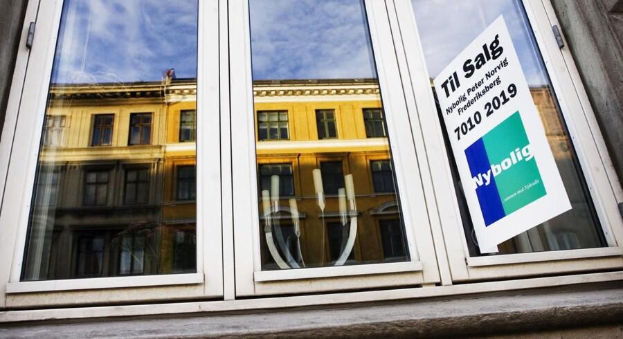 Priserne på ejerlejligheder er steget en lille smule i juli måned