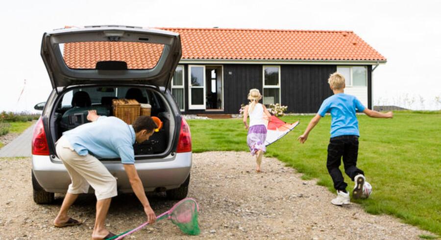 Ved hyppig udlejning er en stor del af udgiften til køb af sommerhus betalt.