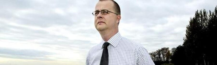 Frank Buch-Andersen vil sikre Green Wind Energy en markedsværdi på lige under to milliarder kroner. Foto: Scanpix.