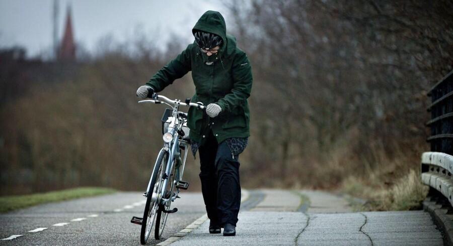 Der kæmpes mod stormen i Vestjylland