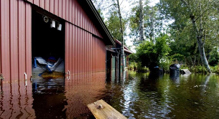 Klimaforandringerne har medført så voldsomme skybrud, at et antal huse næppe fremover vil kunne forsikres mod vandskader.