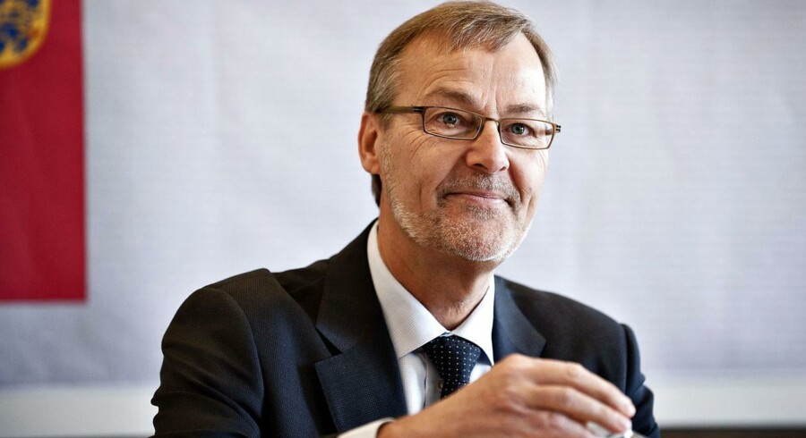 Erhvervs- og vækstminister Ole Sohn annoncerer sin afgang fra dansk politik.