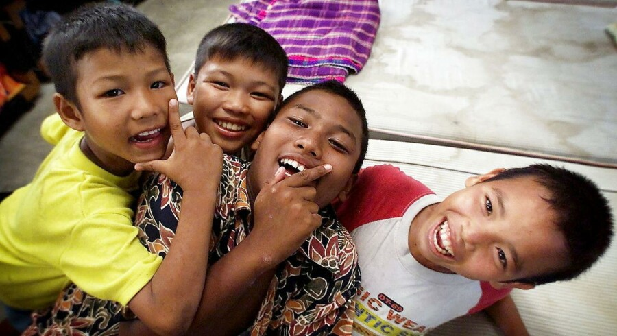 Børnehjem i Thaiiland. Arkivfoto.