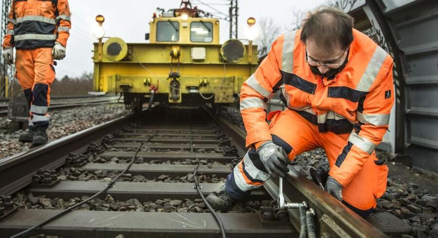 Mange kabeltyverier, senest ved Åmarken station i København onsdag morgen d. 28.01.15. har generet S-togstrafikken.