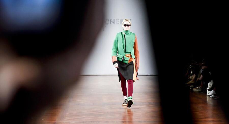 Copenhagen Fashion Week er i gang og modellerne har trådt de først trin ud på catwalken. Se et udvalg af billeder fra de forskellige modeshows. Catwalk fra Designers Nest.