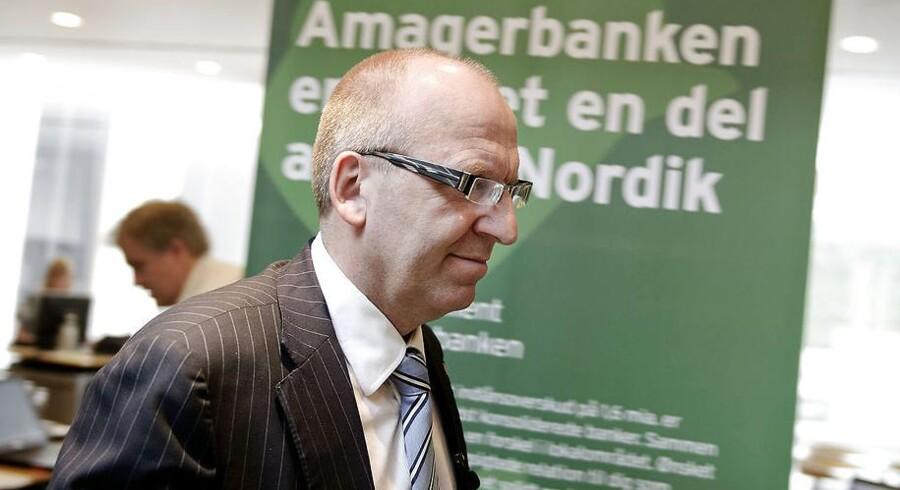 Janus Petersen, administrerende direktør i BankNordik. Arkivfoto.