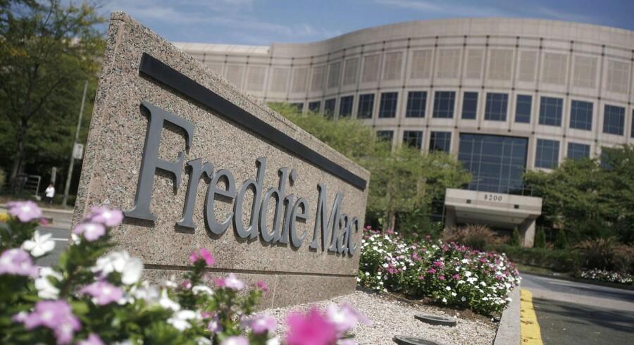 Redningen af den amerikanske boligudlånsgigant Freddie Mac er med til at give indtægter til den amerikanske regering.