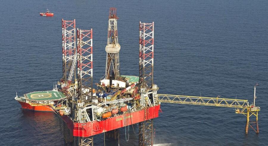 Oliefelter Nordsøen