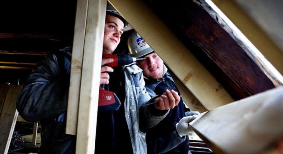De ansatte byggesektoren har god grund til at frygte for deres job det kommende år.