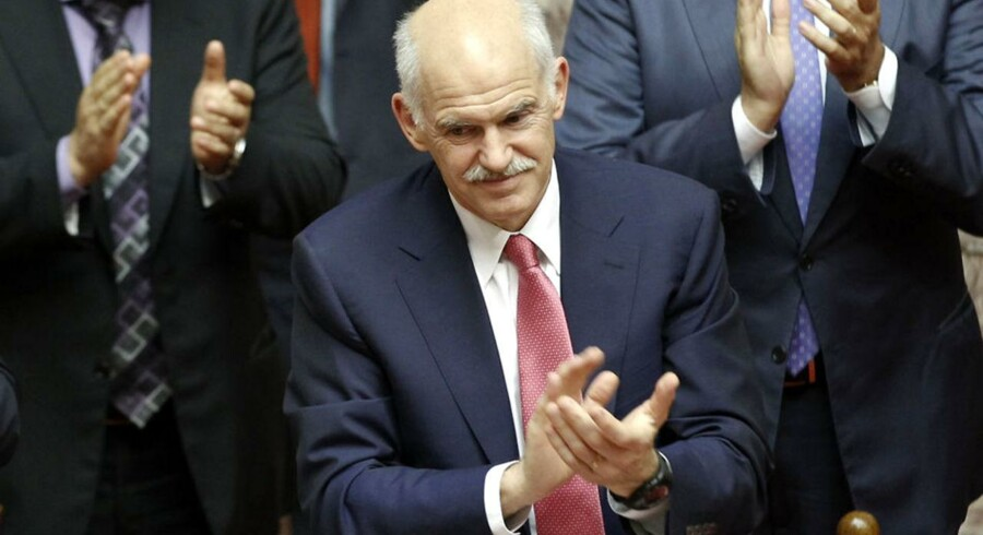 Den græske premierminsiter George Papandreou