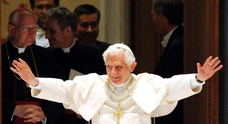 Pave Benedikt XVI er overhoved for den katolske kirkes cirka 1,1 milliard medlemmer verden over.